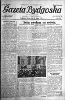 Gazeta Bydgoska 1930.03.29 R.9 nr 74