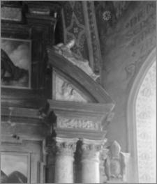 Zduńska Wola. Kościół Wniebowzięcia NMP [ob. Bazylika Wniebowzięcia NMP i Sanktuarium Św. Maksymiliana]. Wnętrze. Ołtarz główny-fragment