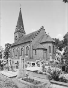 Złotoria. Kościół św. Wojciecha. Widok od południa