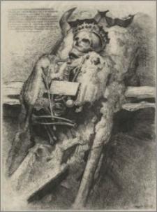 Szczątki Barbary Radziwiłłówny w Katedrze Wileńskiej (wersja II)