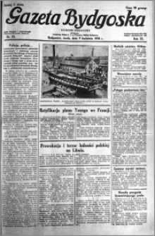 Gazeta Bydgoska 1930.04.09 R.9 nr 83
