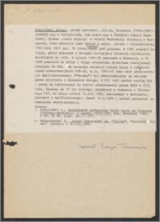 Kokociński, Antoni, pseud. Jankowski, Julian, Hołowacz (1895-1989)