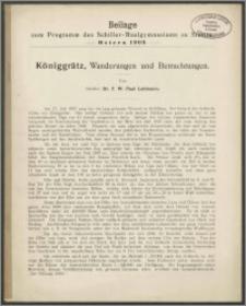 Beilage zum Programm des Schiller-Realgymnasiums zu Stettin. Ostern 1909