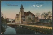 Bydgoszcz Akademja Przemysłowa. Bromberg Kunst- und Gewerbeschule