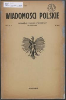 Wiadomości Polskie 1949.01.01, R. 10 nr 1 (400)