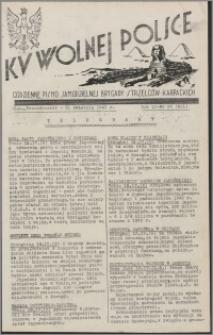 Ku Wolnej Polsce : codzienne pismo Samodzielnej Brygady Strzelców Karpackich 1941.04.21, R. 2 nr 95 (201)
