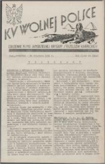 Ku Wolnej Polsce : codzienne pismo Samodzielnej Brygady Strzelców Karpackich 1941.04.24, R. 2 nr 98 (204)
