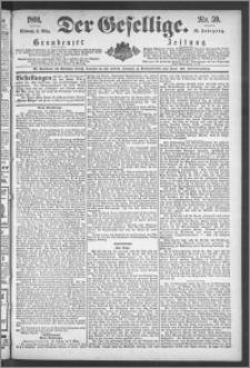Der Gesellige : Graudenzer Zeitung 1891.03.11, Jg. 65, No. 59