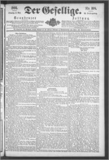 Der Gesellige : Graudenzer Zeitung 1891.05.12, Jg. 65, No. 108