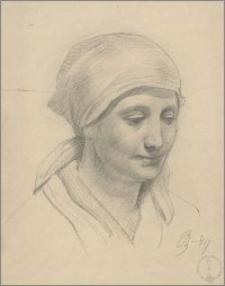 Głowa kobieca (portret żony)
