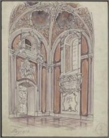 Kaplica św. Jacka w kościele św. Jakuba w Wilnie - projekt polichromii I