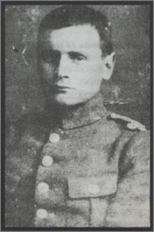 Aleksander Krzyżanowski w mundurze Wojska Polskiego II RP w stopniu oficera