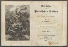 Geschichte des polnischen Volkes : von seinem Ursprunge bis zur Gegenwart : mit Stahlstichen. Bd. 2