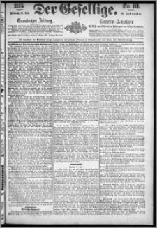 Der Gesellige : Graudenzer Zeitung 1893.07.12, Jg. 68, No. 161