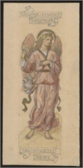 Archangelus Ariel - szkic do polichromii