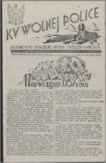 Ku Wolnej Polsce : codzienne pismo Samodzielnej Brygady Strzelców Karpackich 1941.09.17, R. 2 nr 223 (329)