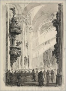 Kazanie II (Wnętrze kościoła barokowego)