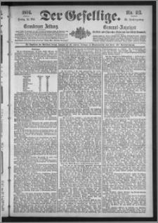 Der Gesellige : Graudenzer Zeitung 1894.05.18, Jg. 68, No. 113