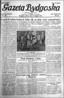 Gazeta Bydgoska 1930.08.12 R.9 nr 185