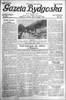 Gazeta Bydgoska 1930.08.21 R.9 nr 192