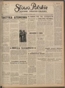 Słowo Polskie : dziennik wolnych Polaków 1952.09.25, R. 1 nr 123