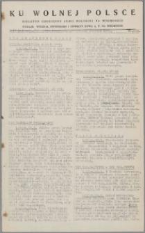 Ku Wolnej Polsce : biuletyn codzienny Armii Polskiej na Wschodzie 1943, nr 133