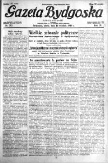 Gazeta Bydgoska 1930.09.13 R.9 nr 212