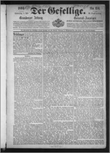 Der Gesellige : Graudenzer Zeitung 1894.07.05, Jg. 68, No. 154