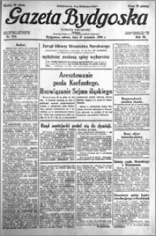 Gazeta Bydgoska 1930.09.27 R.9 nr 224