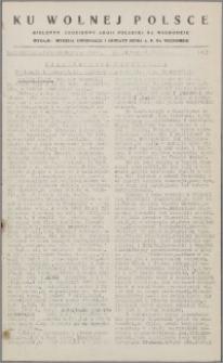 Ku Wolnej Polsce : biuletyn codzienny Armii Polskiej na Wschodzie 1943, nr 153