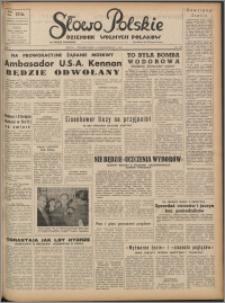 Słowo Polskie : dziennik wolnych Polaków 1952.10.06, R. 1 nr 132