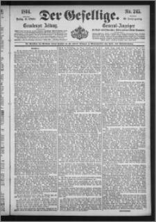 Der Gesellige : Graudenzer Zeitung 1894.10.19, Jg. 69, No. 245