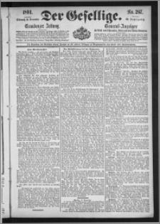 Der Gesellige : Graudenzer Zeitung 1894.11.14, Jg. 69, No. 267
