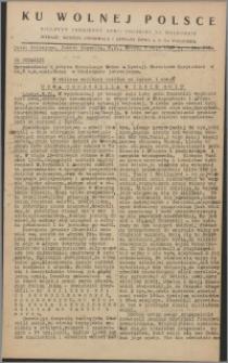 Ku Wolnej Polsce : biuletyn codzienny Armii Polskiej na Wschodzie 1943, nr 267