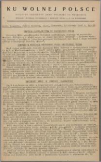 Ku Wolnej Polsce : biuletyn codzienny Armii Polskiej na Wschodzie 1943, nr 268