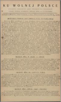 Ku Wolnej Polsce : biuletyn codzienny Armii Polskiej na Wschodzie 1943, nr 272