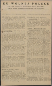 Ku Wolnej Polsce : biuletyn codzienny Armii Polskiej na Wschodzie 1943, nr 276