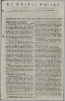 Ku Wolnej Polsce : biuletyn codzienny Armii Polskiej na Wschodzie 1943, nr 283
