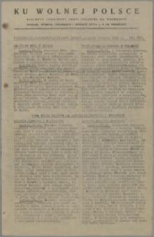 Ku Wolnej Polsce : biuletyn codzienny Armii Polskiej na Wschodzie 1943, nr 288