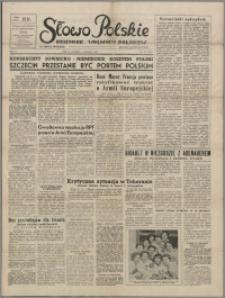 Słowo Polskie : dziennik wolnych Polaków 1953.03.03, R. 2, nr 53 (255)