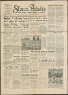 Słowo Polskie : dziennik wolnych Polaków 1953.10.02, R. 2, nr 231 (433)