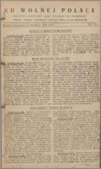 Ku Wolnej Polsce : biuletyn codzienny Armii Polskiej na Wschodzie 1943, nr 363
