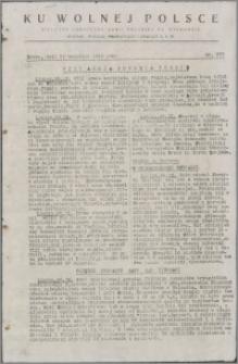 Ku Wolnej Polsce : biuletyn codzienny Armii Polskiej na Wschodzie 1943, nr 379