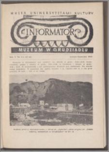 Informator Muzeum w Grudziądzu marzec-kwiecień 1964, Rok V nr 3-4 (45-46)