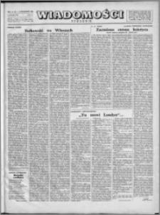 Wiadomości, R. 1, nr 36 (36), 1946