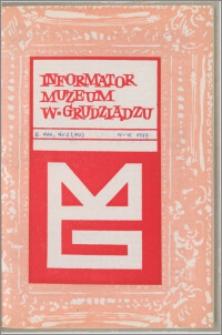 Informator Muzeum w Grudziądzu kwiecień-czerwiec 1977, Rok XVIII nr 2 (112)