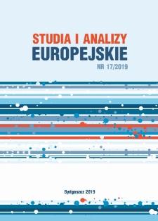 Studia i Analizy Europejskie. Nr 17/2019