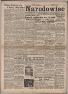 Narodowiec 1947.01.19/20, R. 39 nr 15