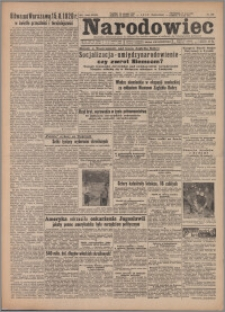 Narodowiec 1947.08.15/16, R. 39 nr 192