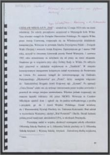 Życiorys Czesława Mikołajuna